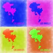 Los Angeles Pop Art Map 2