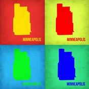 Minneapolis Pop Art Map 1