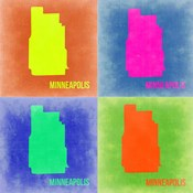Minneapolis Pop Art Map 2