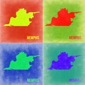 Memphis Pop Art Map 2