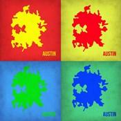 Austin Pop Art Map 1