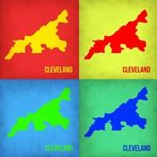 Cleveland Pop Art Map 1