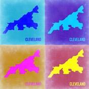 Cleveland Pop Art Map 2