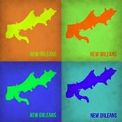 New Orleans Pop Art Map 1