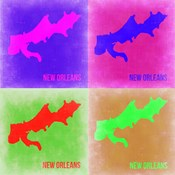 New Orleans Pop Art Map 2