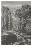 Classical Landscape Triptych I