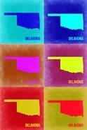 Oklahoma Pop Art Map 2