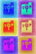 Vintage Polaroid Camera Pop Art 2