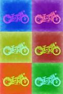 Vintage Bike Pop Art 2