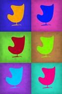 Egg Chair Pop Art  2