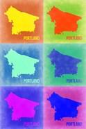 Portland Pop Art Map 3