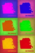 San Francisco Pop Art Map 3