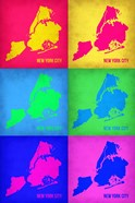 New York City Pop Art Map 3