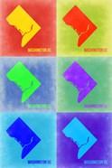 Washington DC Pop Art Map 3