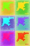 Denver Pop Art Map 3
