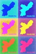 Philadelphia Pop Art Map 3