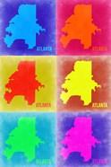 Atlanta Pop Art Map 3