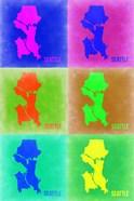 Seattle Pop Art Map 3