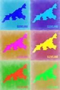 Cleveland Pop Art Map 3