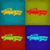 Ford Mustang Pop Art 1