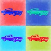 Ford Mustang Pop Art 2