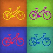 Vintage Bicycle Pop Art 1