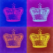 Crown Pop Art 1