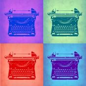 Vintage Typewriter Pop Art 2