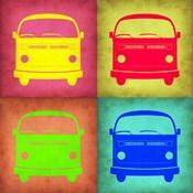 Vintage Bus Pop Art 1