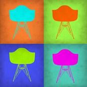 Eames Chair Pop Art 1