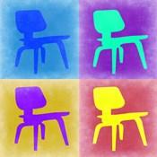 Eames Chair Pop Art 4