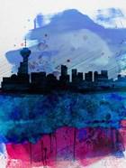 Vancouver Watercolor Skyline