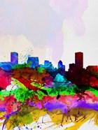 Baltimore Watercolor Skyline