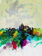 Beijing Watercolor Skyline