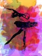 Black Ballerina Watercolor
