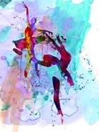 Two Ballerinas Watercolor 1