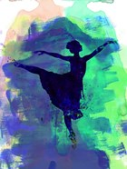 Ballerina's Dance Watercolor 2