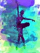 Ballerina Watercolor 4B