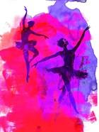 Two Dancing Ballerinas