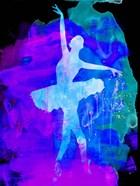 White Ballerina Watercolor 1