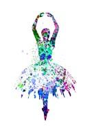 Ballerina Dancing Watercolor 4