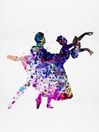 Ballet Dancers Watercolor 1