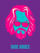 Dude Abides Purple
