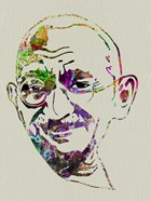 Gandhi Watercolor