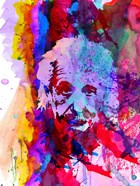 Einstein Watercolor