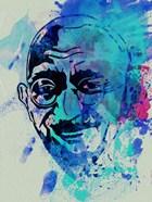 Gandhi Watercolor 1