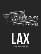 LAX Los Angeles Airport Black