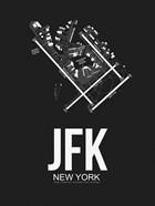 JFK New York Airport Black