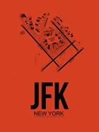 JFK New York Airport Orange
