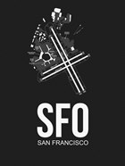 SFO San Francisco Airport Black